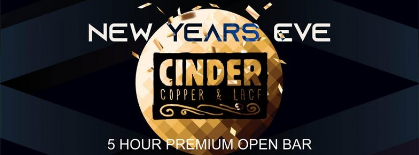 Joonbug.com Presents Cinder New Years Eve Party 2019