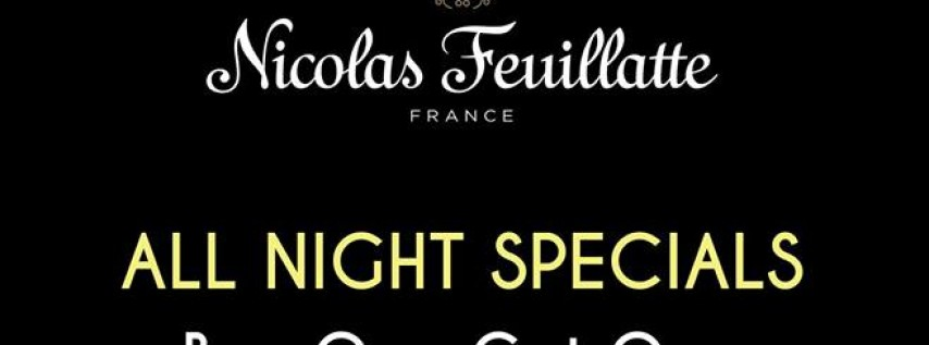 Ring in The New Year 2019 featuring Nicolas Feuillatte Champagne