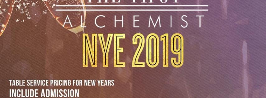 The Tipsy Alchemist NYE 2019
