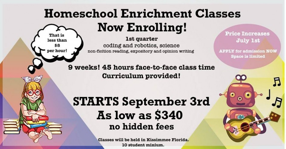 Education Revolution: Homeschool Enrichment Classes