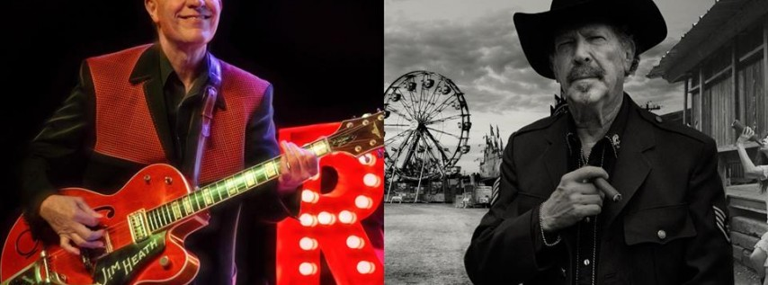 An Evening of Twisted Tales: Kinky Friedman/Reverend Horton Heat