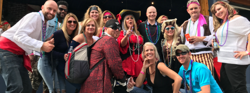 Tito's Gasparilla Barrr Crawl with Brunch & Party Bus