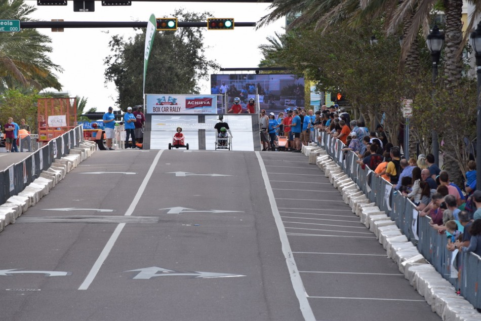 Achieva's 10th annual Box Car Rally