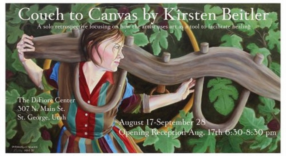 Couch to Canvas Gallery Show by Kirsten Beitler