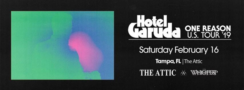 Hotel Garuda: One Reason Tour | Tampa