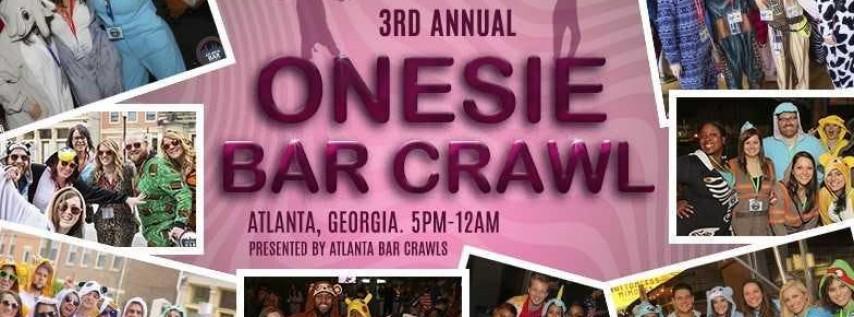 3rd Annual Onesie Bar Crawl: Atlanta