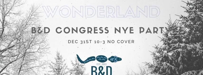 Winter Wonderland NYE Party