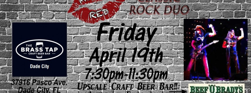 April Red LIVE at The Brass Tap in Dade City!