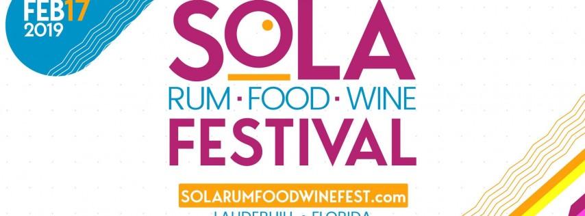SoLa Rum, Food & Wine Festival