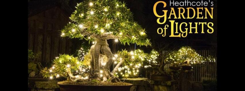 Heathcote's Garden of Lights