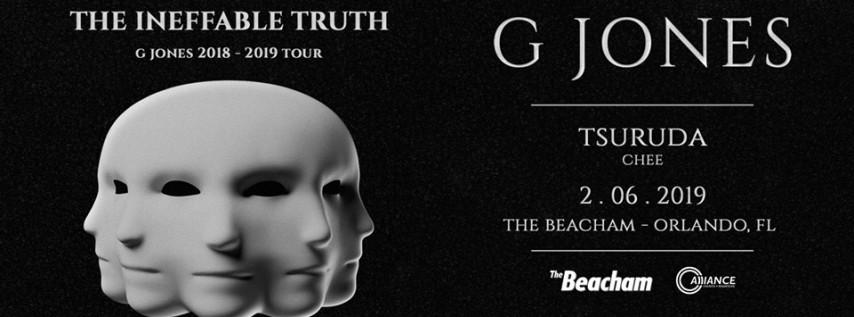 G Jones ft. Tsuruda & Chee - Ineffable Truth Tour at The Beacham