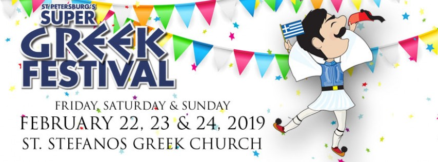 2019 ST PETE SUPER GREEK FEST - FUN | FOOD | DANCING - OPA!