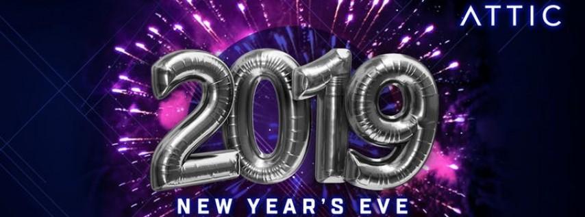 Attic New Year S Eve 2019 Orlando Fl Dec 31 2018 10 00 Pm