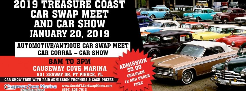 South Florida Car Shows: 2019 South Florida Car Swap Meet And Car Show Ft Pierce