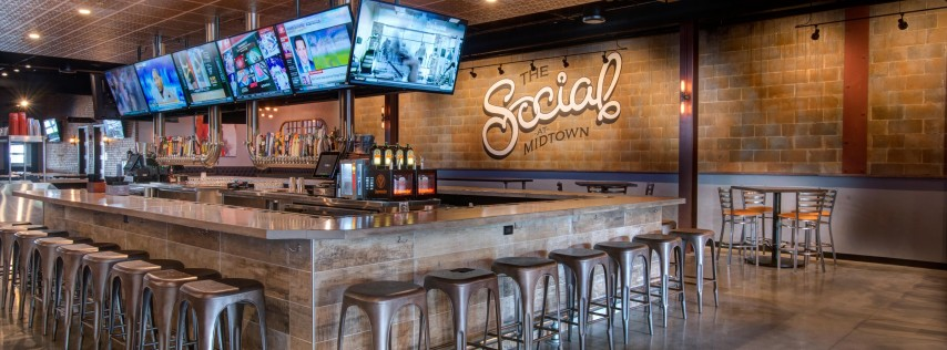 A Toast to 2019: The Social at Midtown's New Year Celebration