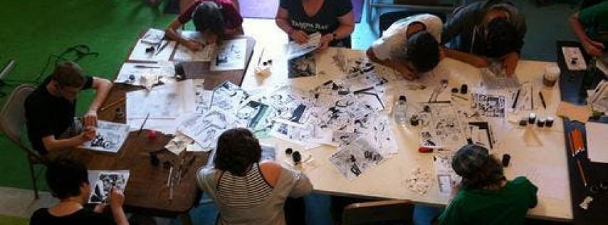 Tween and Teen Comics Class, January 2019