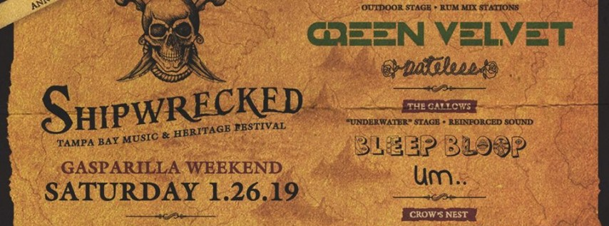 Shipwrecked Music Festival - Gasparilla Weekend in Tampa Bay