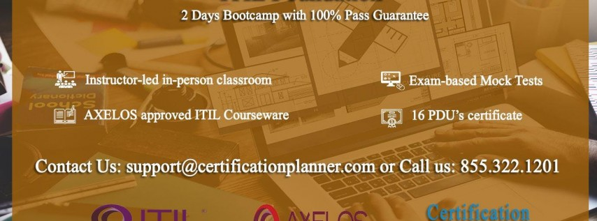 ITIL Foundation 2 Days Classroom in Washington