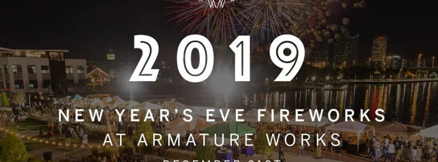 Fireworks at Armature Works