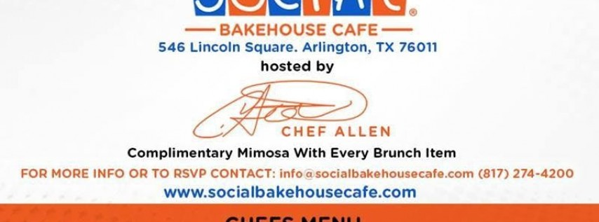Sunday Social Brunch - EVERY Sunday