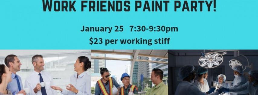 Work Friends Paint Party!