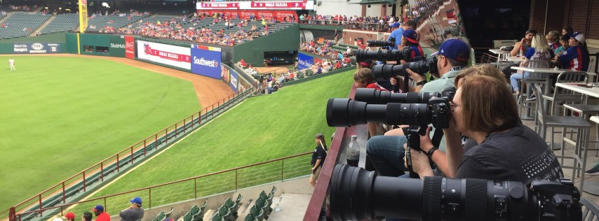 Fort Worth Foto Fest - Texas Rangers vs. Toronto Blue Jays!