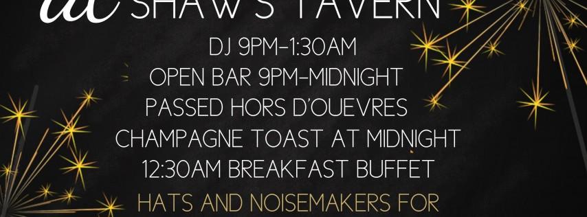 New Year's Eve at Shaw's Tavern
