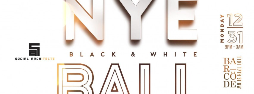 2ND ANNUAL NEW YEARS EVE BLACK & WHITE BALL
