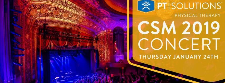 PT Solutions Warner Theatre Concert at CSM 2019
