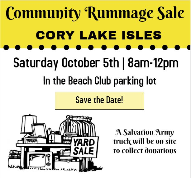 New Tampa Rummage Sale
