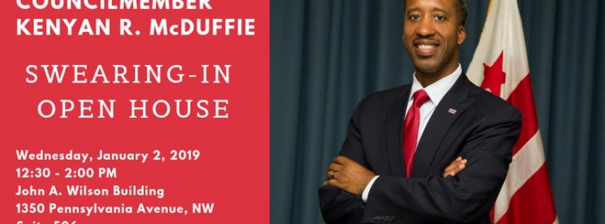 Councilmember McDuffie's Swearing-In Open House