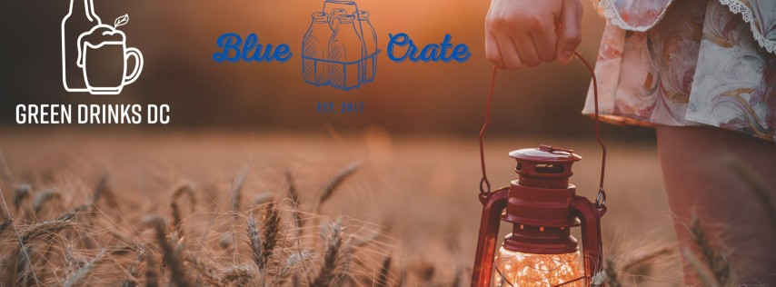 Green Drinks DC Happy Hour with Blue Crate Oat Milk