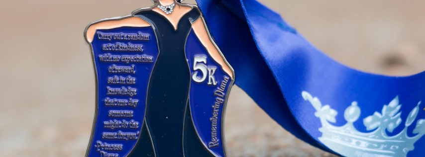 Now Only $8.00! Make a Difference Day 5K- Remembering Princess Diana- Fayetteville