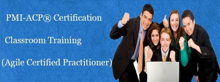 PMI-ACP Certification Training Course in Fayetteville, NC