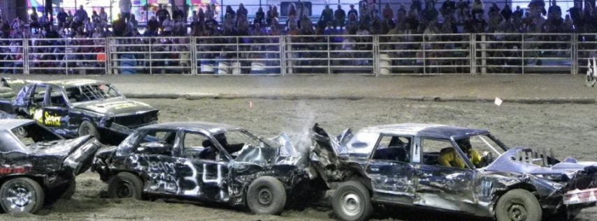 Okeechobee County Fair Demolition Derby Driving Experience 2019