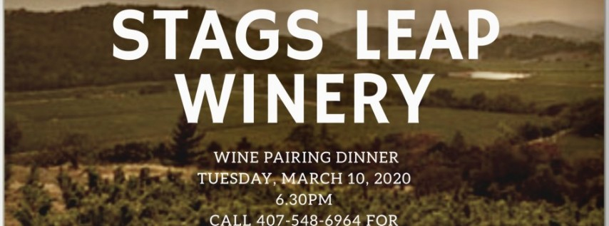 STAGS LEAP WINE DINNER