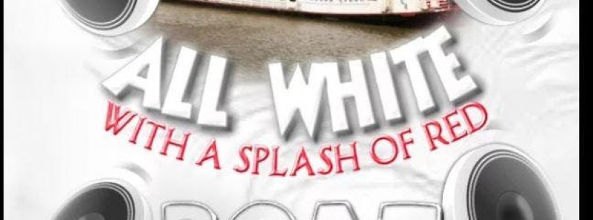 All White Masquerade Boat Party With A Splash of Red ---Essence Weekend (Friday)