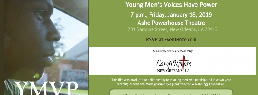 Young Men's Voices Have Power