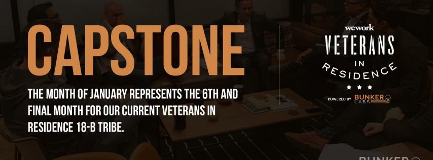 WeWork Veterans in Residence Powered by Bunker Labs: Houston Capstone 18B