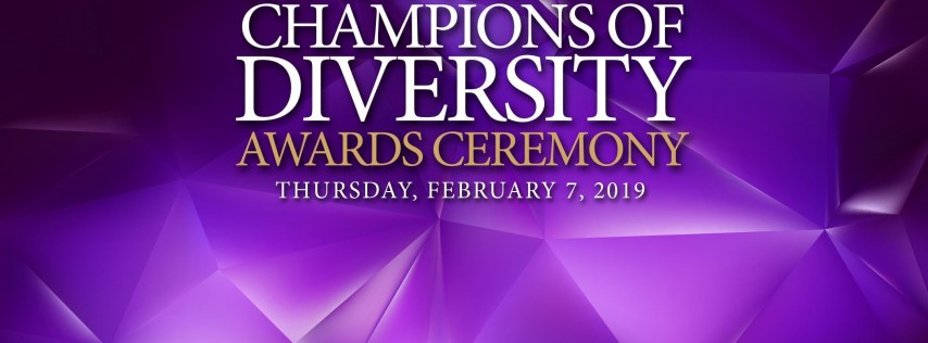6th Annual Champions of Diversity Awards Sponsorship Opportunities