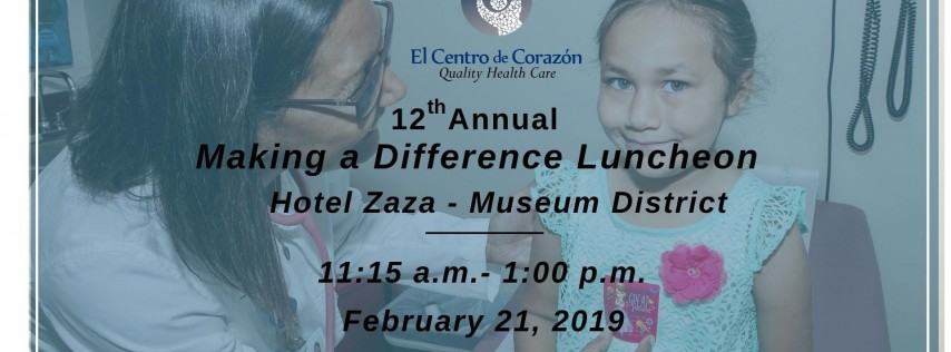 12th Annual Making a Difference Luncheon