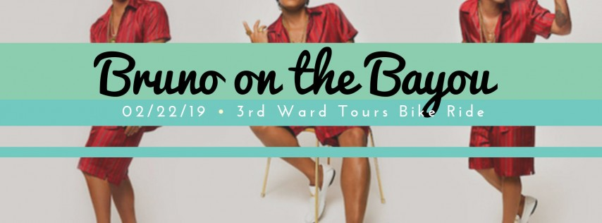 Bruno on the Bayou | 3rd Ward Tours Bike Ride