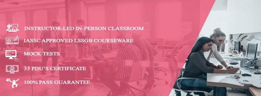 Lean Six Sigma Green Belt (LSSGB) 4 Days Classroom in Charleston