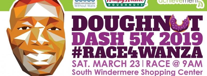 Doughnut Dash 5k 2019 #Race4Wanza