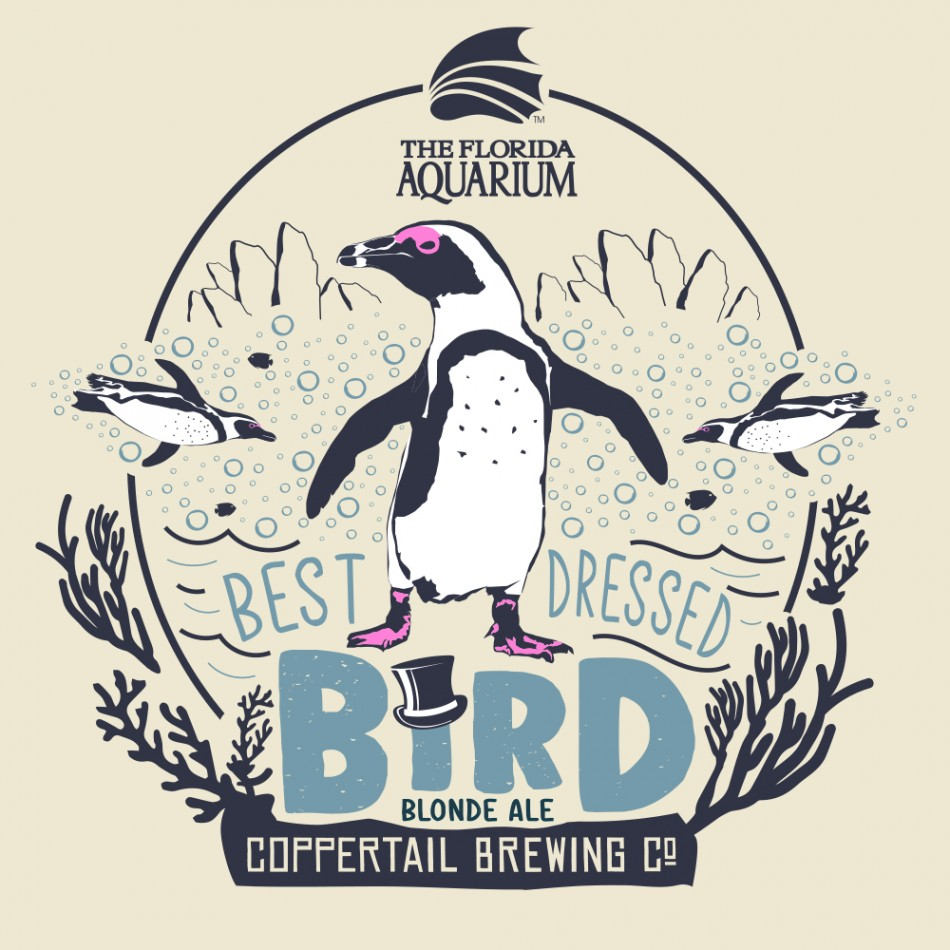 Coppertail Brewing Co. Best Dressed Bird Blonde Ale Mini Launch Party