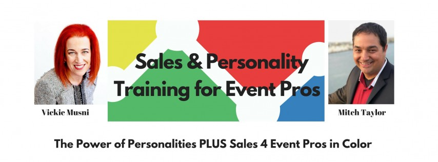 Sales & Personality Training For Event Pros