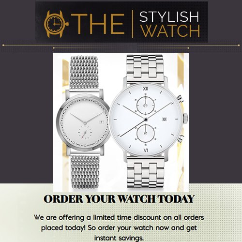 The Stylish Watch - Every Day Watch Styles