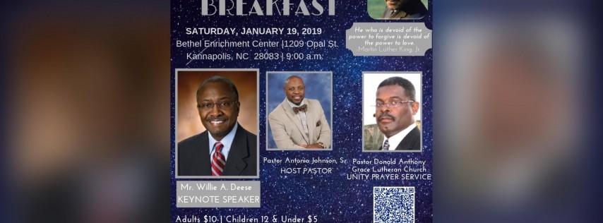 2019 Mlk Unity Prayer Breakfast Charlotte Nc Jan 19