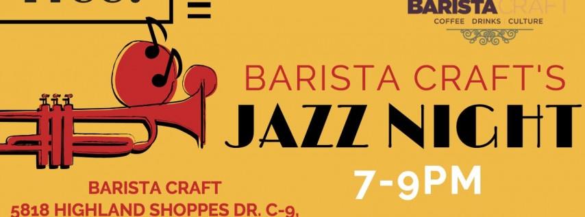 Jazz Night at Barista Craft
