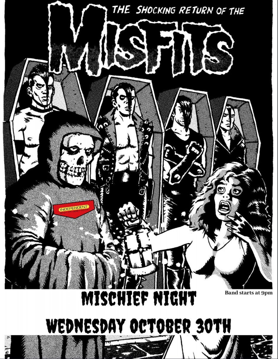 Mischief Night with The Misfits